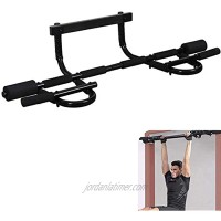 Pull up Bar for Doorway Door Pullup Chin up Bar Home Multifunctional Portable Dip bar Fitness Exercise Equipment Body Gym System No Screws Trainer