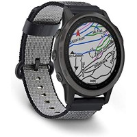 DuiGong Woven Nylon Strap Compatible for Garmin Fenix 6X 6 6S Plus Replacement Band with Buckle